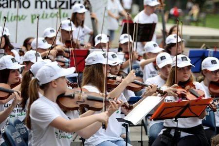 Besplatni javni časovi muzike za decu - upoznavanje sa