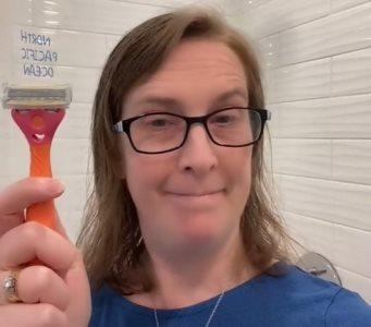 nemojte se brijati pred porođaj